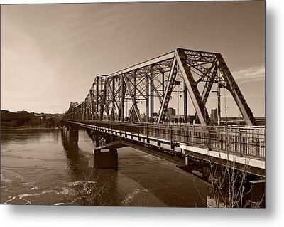 Alexandria Bridge Metal Print