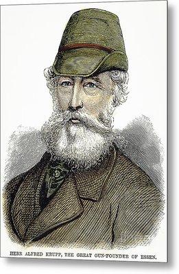 Alfred Krupp (1812-1887) Metal Print by Granger