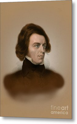 Alfred, Lord Tennyson, English Poet Metal Print by Science Source