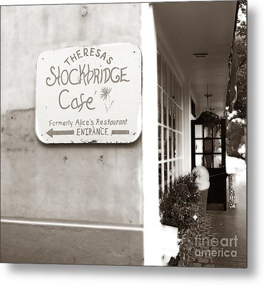 Alice's Restaurant Metal Print