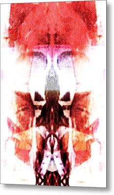 Alien King Metal Print by Andrea Barbieri