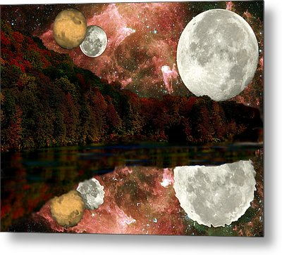 Metal Print featuring the photograph Alien World by Sarah McKoy