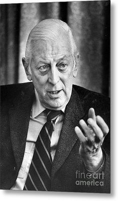 Alistair Cooke (1908-2004) Metal Print by Granger