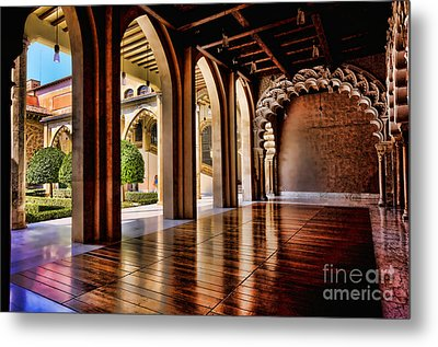 Aljaferia Palace Zaragoza Colour II Metal Print by Jack Torcello