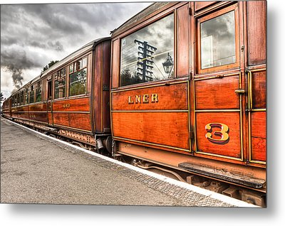 All Aboard Metal Print by Adrian Evans