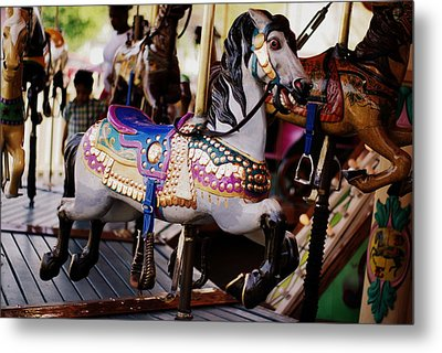 All The King's Horses Metal Print