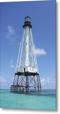 Alligator Reef Lighthouse Metal Print by Kevin Brant