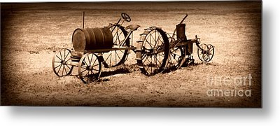 Almost A Tractor Metal Print