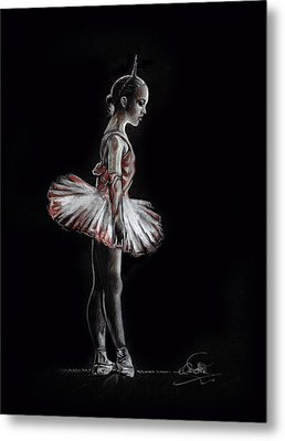 Alone In The Dark Metal Print by Ole Hedeager Mejlvang