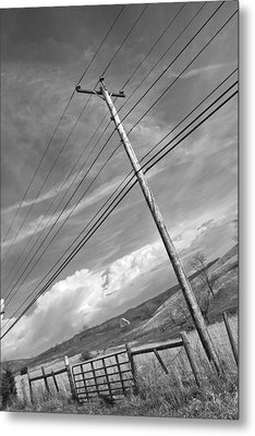 Along Interstate 81 Metal Print by Betsy Knapp