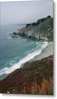 Along The Pacific Coast Metal Print