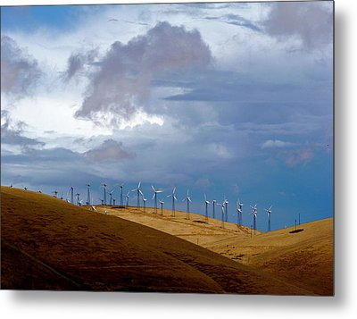 Altamont Pass California Metal Print by Amelia Racca