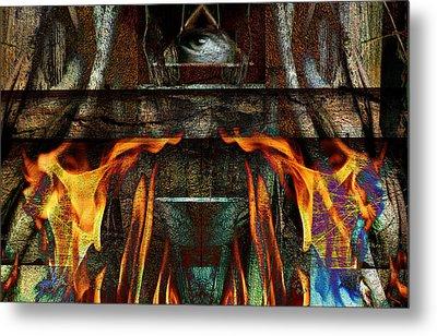Altar Metal Print by Janet Kearns