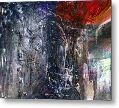 Altered Second Movements Metal Print by Linda Sannuti