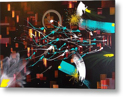 Alternative Consciousness Metal Print by Stephen P ODonnell Sr