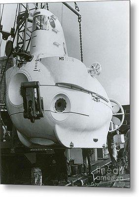 Alvin, Deep Sea Ocean Research Vessel Metal Print by Omikron