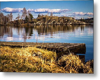 Metal Print featuring the photograph Always Something In A Way by Matti Ollikainen