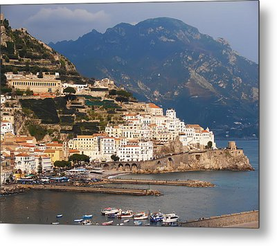 Amalfi Metal Print by Bill Cannon