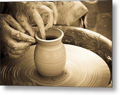 Amazing Hands V Metal Print by Emanuel Tanjala