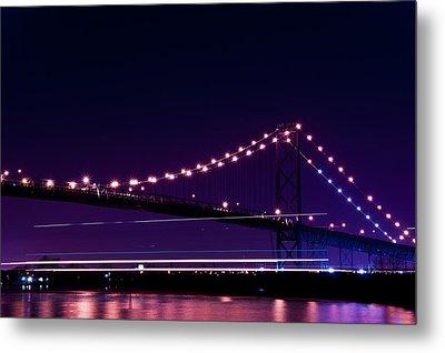 Ambassador Bridge Metal Print by Cale Best