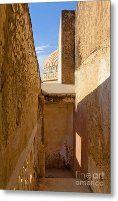 Amber Fort Stairway Metal Print by Inti St. Clair