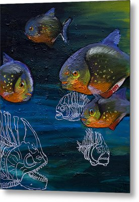 Ambiguity  Metal Print by Anthony Cavins