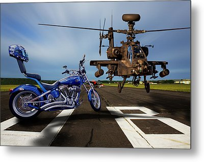 American Choppers 2 Metal Print