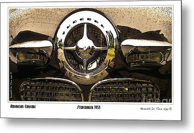 American Chrome Metal Print by Kenneth De Tore