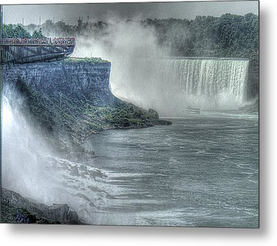 American Falls Metal Print by William Fields