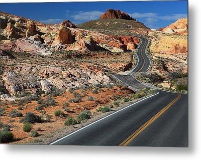 American Roadtrip Metal Print by Achim Thomae