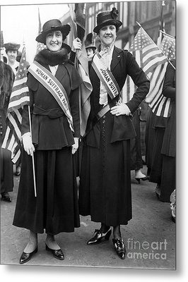 American Suffragists Metal Print