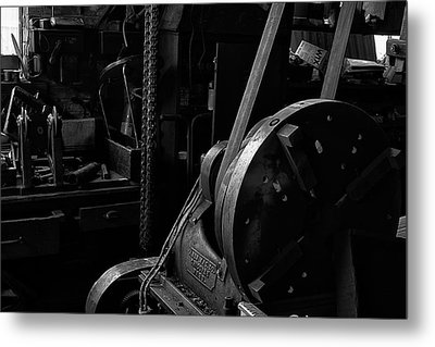 Metal Print featuring the photograph Ames Mfg Co by Tom Singleton