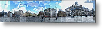 Amsterdam - Dam Square - 01 Metal Print by Gregory Dyer