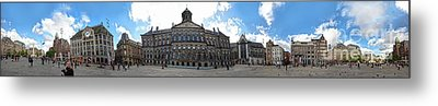 Amsterdam - Dam Square - 02 Metal Print by Gregory Dyer