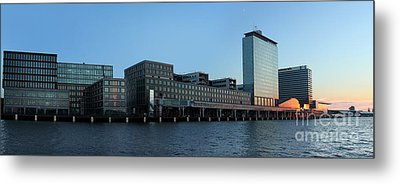 Amsterdam - In The Bay- 02 Metal Print by Gregory Dyer