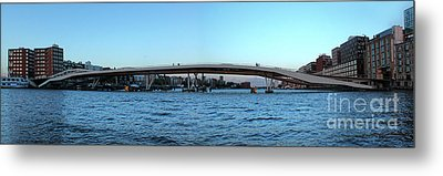 Amsterdam - In The Bay- 03 Metal Print by Gregory Dyer