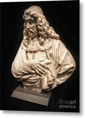Amsterdam Rijksmuseum Classic Bust - 01 Metal Print by Gregory Dyer