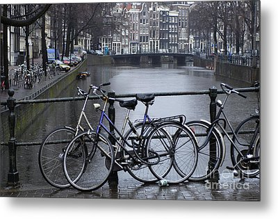 Amsterdam The Netherlands Metal Print by Bob Christopher