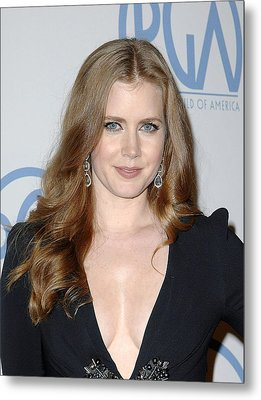 Amy Adams In Attendance For 22nd Annual Metal Print by Everett