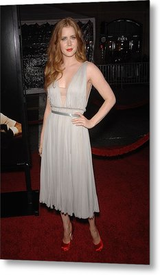 Amy Adams Wearing A J. Mendel Dress Metal Print by Everett