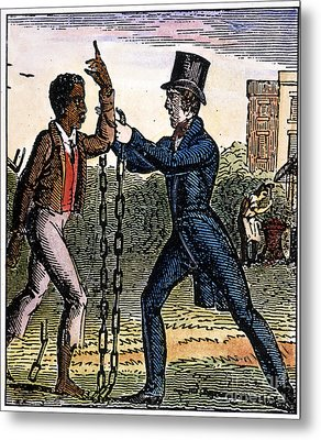 An Abolitionist Metal Print by Granger