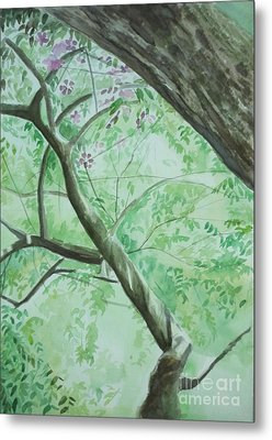 An Afternoon In My Garden Metal Print by Vuong Anh Tuan