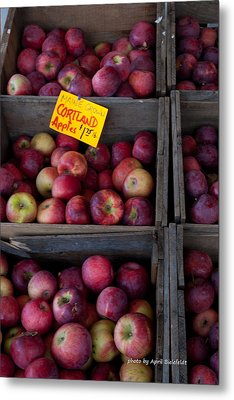 An Apple A Day Metal Print by April Bielefeldt
