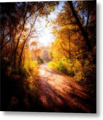 An Autumn Invitation Metal Print