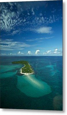 An Island In The Quirimbas Archipelago Metal Print by Jad Davenport