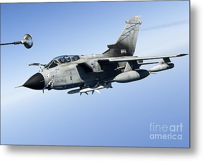 An Italian Air Force Tornado Ids Metal Print by Gert Kromhout