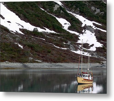 Anchorage Perfection Metal Print