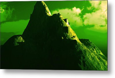 Ancient Civilization Metal Print by J Riley Johnson