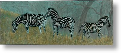 And Baby Makes Three Metal Print by Linda Harrison-parsons