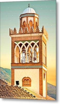 Andalucian Minaret Metal Print by Tom Gowanlock